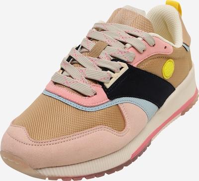 SCOTCH & SODA Sneaker 'Vivi' in hellblau / hellbraun / mischfarben / rosa / schwarz, Produktansicht