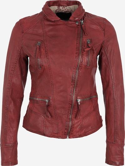 OAKWOOD Biker-Lederjacke in rot, Produktansicht