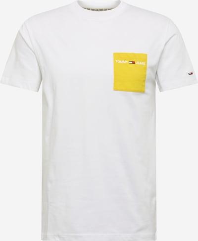 Tommy Jeans Tričko - žlutá / bílá, Produkt