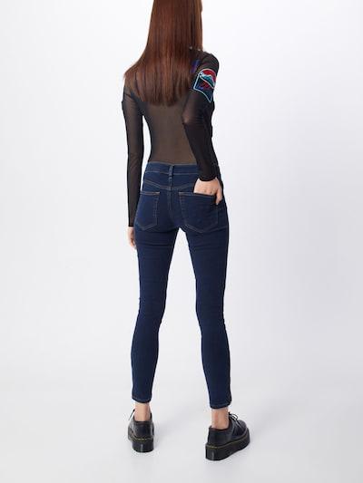 Jeans 'SLANDY-ZIP 0680I' DIESEL pe denim albastru: Privire spate
