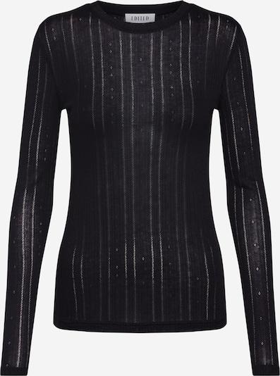 EDITED T-shirt 'Katja' en noir, Vue avec produit