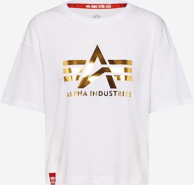 ALPHA INDUSTRIES Koszulka 'Big A T Wmn' w kolorze białym, Podgląd produktu