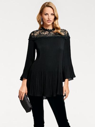 Bluză heine pe negru, Vizualizare model