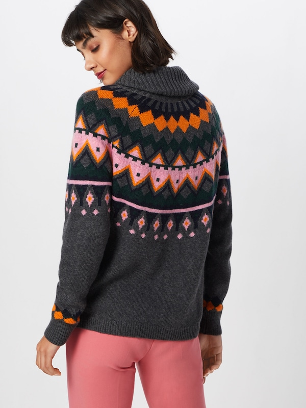 Gris High Knit' 'nmlund May L s Neck over En Pull Noisy 1TJKFcl