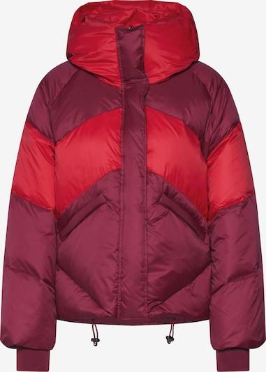 JOTT Zimná bunda 'Gironde LS hood Bicolor Oversize' - vínovo červená / svetločervená, Produkt