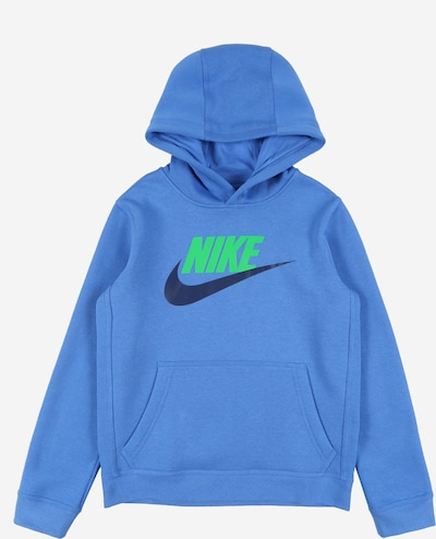 Nike Sportswear Sweatshirts 'CLUB + HBR PO' in blau, Produktansicht