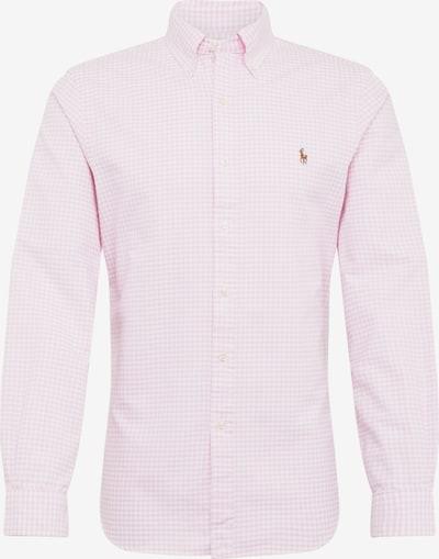 POLO RALPH LAUREN Koszula biznesowa w kolorze różowy / białym, Podgląd produktu