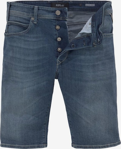 REPLAY Replay Jeansshorts in blau, Produktansicht