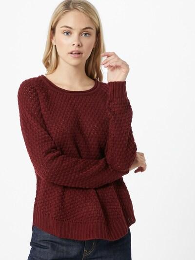 VERO MODA Pullover 'ESME' in burgunder, Modelansicht