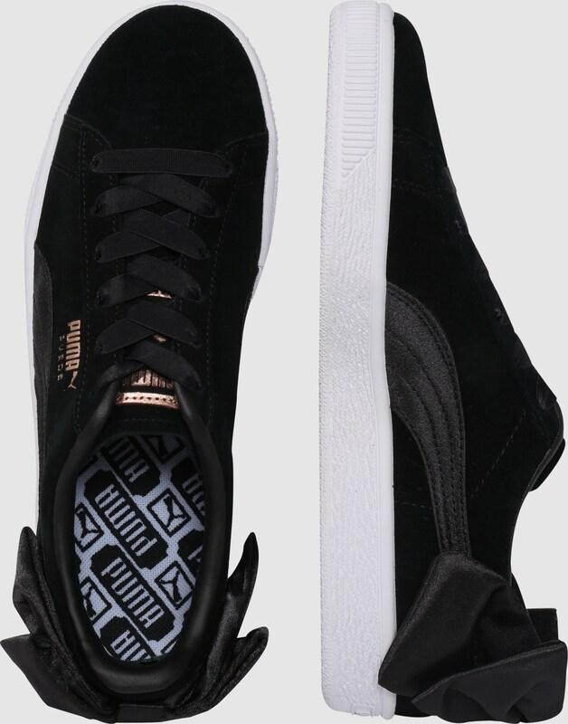PUMA Veloursleder-Sneaker mit Bow Schleife  Suede Bow mit fb196d