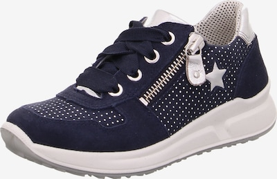 SUPERFIT Sneaker 'Merida' in navy / silber, Produktansicht