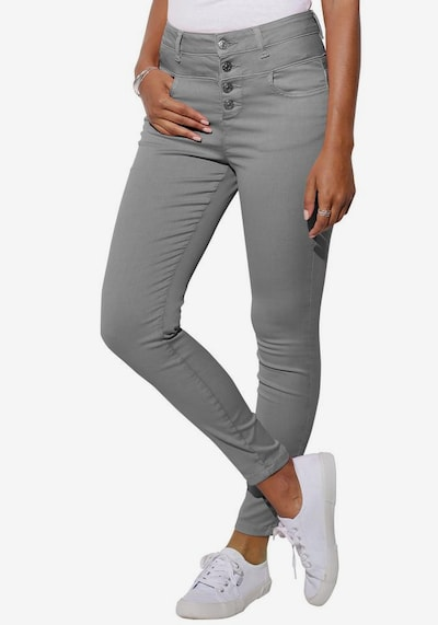 LASCANA Jeans in hellgrau, Modelansicht