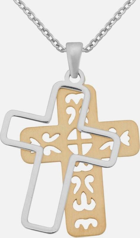 FIRETTI Kette mit Anhänger 'Kreuz'