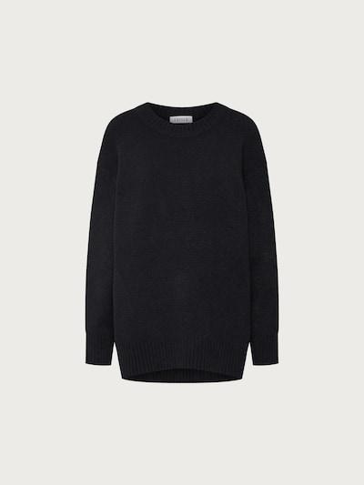 EDITED Strickpullover 'Luca' in schwarz, Produktansicht