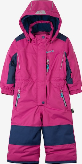 Kamik Schneeanzug 'Lazer' in navy / pink, Produktansicht