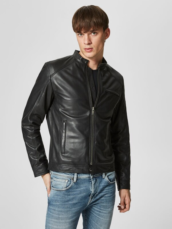 SELECTED HOMME Lederjacke