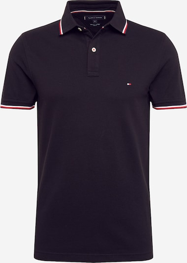 TOMMY HILFIGER Camiseta 'TOMMY TIPPED SLIM POLO' en negro, Vista del producto