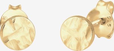 ELLI Ohrringe Geo, Plättchen in gold, Produktansicht