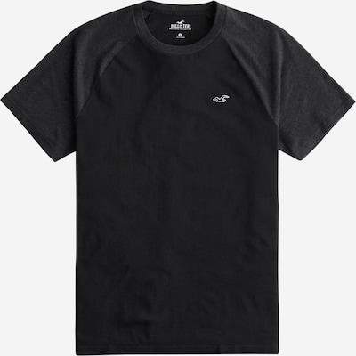 HOLLISTER T-Shirt in silbergrau / schwarz, Produktansicht