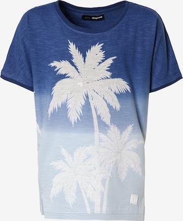 Desigual T-Shirt in Blau