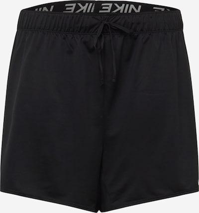 NIKE Pantalon de sport 'Attk 2.0 TR5 Plus' en gris / noir, Vue avec produit
