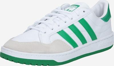 ADIDAS ORIGINALS Sneaker in hellgrau / grün / weiß, Produktansicht