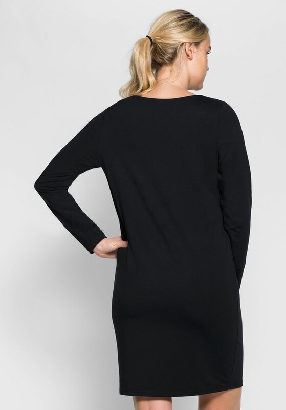 sheego casual Basic Kleid