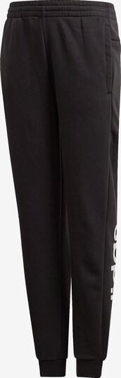 ADIDAS PERFORMANCE Jogginghose 'Lin' in schwarz / weiß, Produktansicht