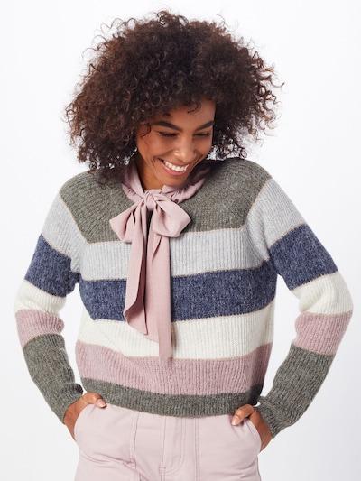 ONLY Sweter 'onlSTRIPE L/S PULLOVER KNT' w kolorze mieszane kolorym, Podgląd na modelu(-ce)