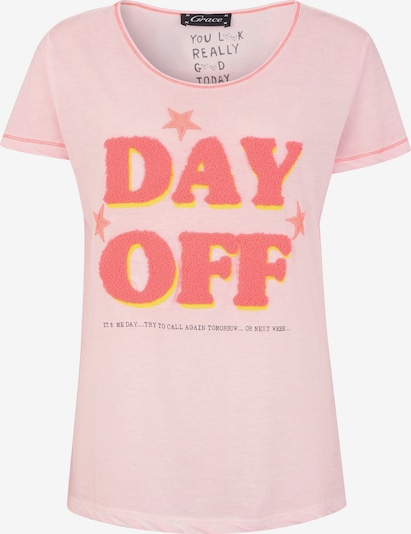 Grace Shirt 'DAY OFF' in de kleur Rosa, Productweergave