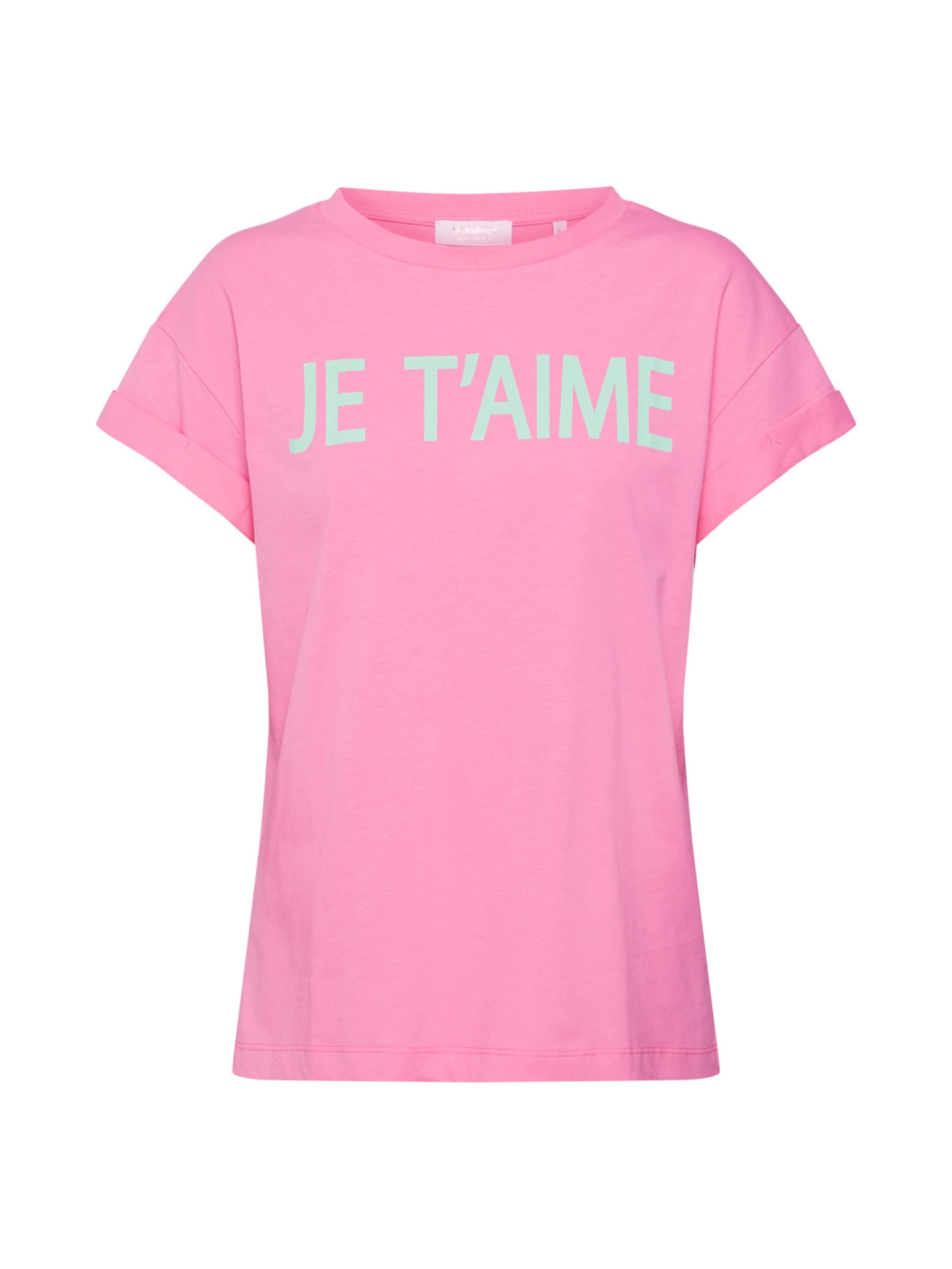 T Richamp; T'aime' shirt MentheRose En Royal 'je 8wmnNv0