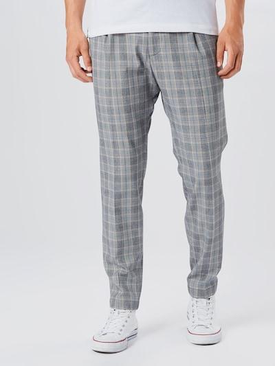 CINQUE Spodnie 'JUNO' w kolorze niebieski / szary / białym: Widok z przodu