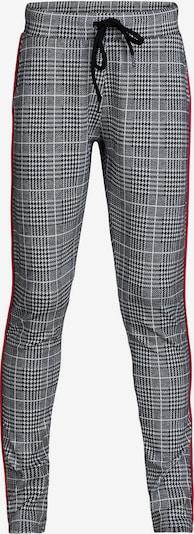 WE Fashion Jogginghose 'Lizze' in pink / schwarz / weiß, Produktansicht