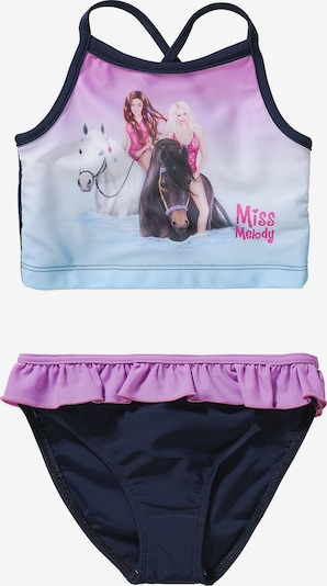 Miss Melody Tankini in blau / lila, Produktansicht