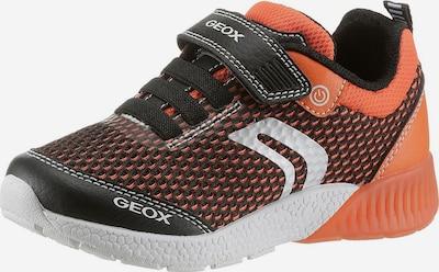 GEOX Kids Sneaker 'Sveth' in dunkelorange / schwarz, Produktansicht