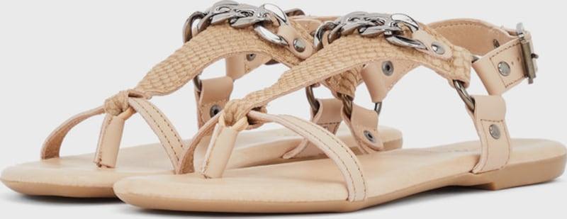 Haltbare Mode billige Gut Schuhe Bianco | Dreiecksketten Sandalen Schuhe Gut billige getragene Schuhe a3361d