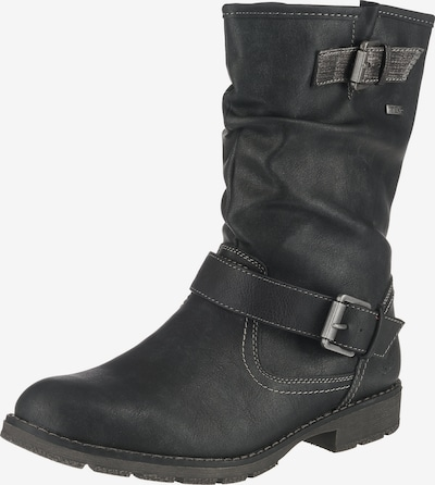 JANE KLAIN Boots in schwarz: Frontalansicht
