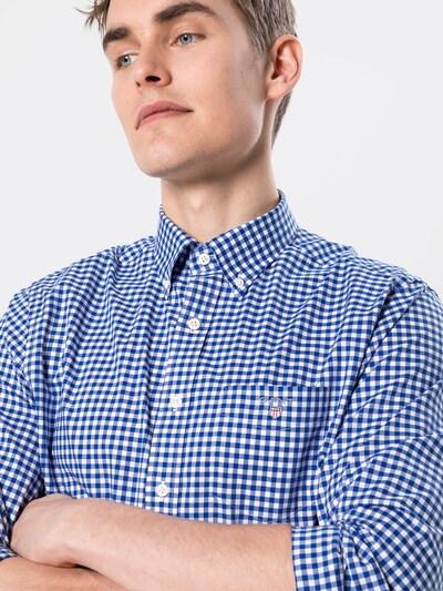 GANT Hemd in blau / weiß, Produktansicht