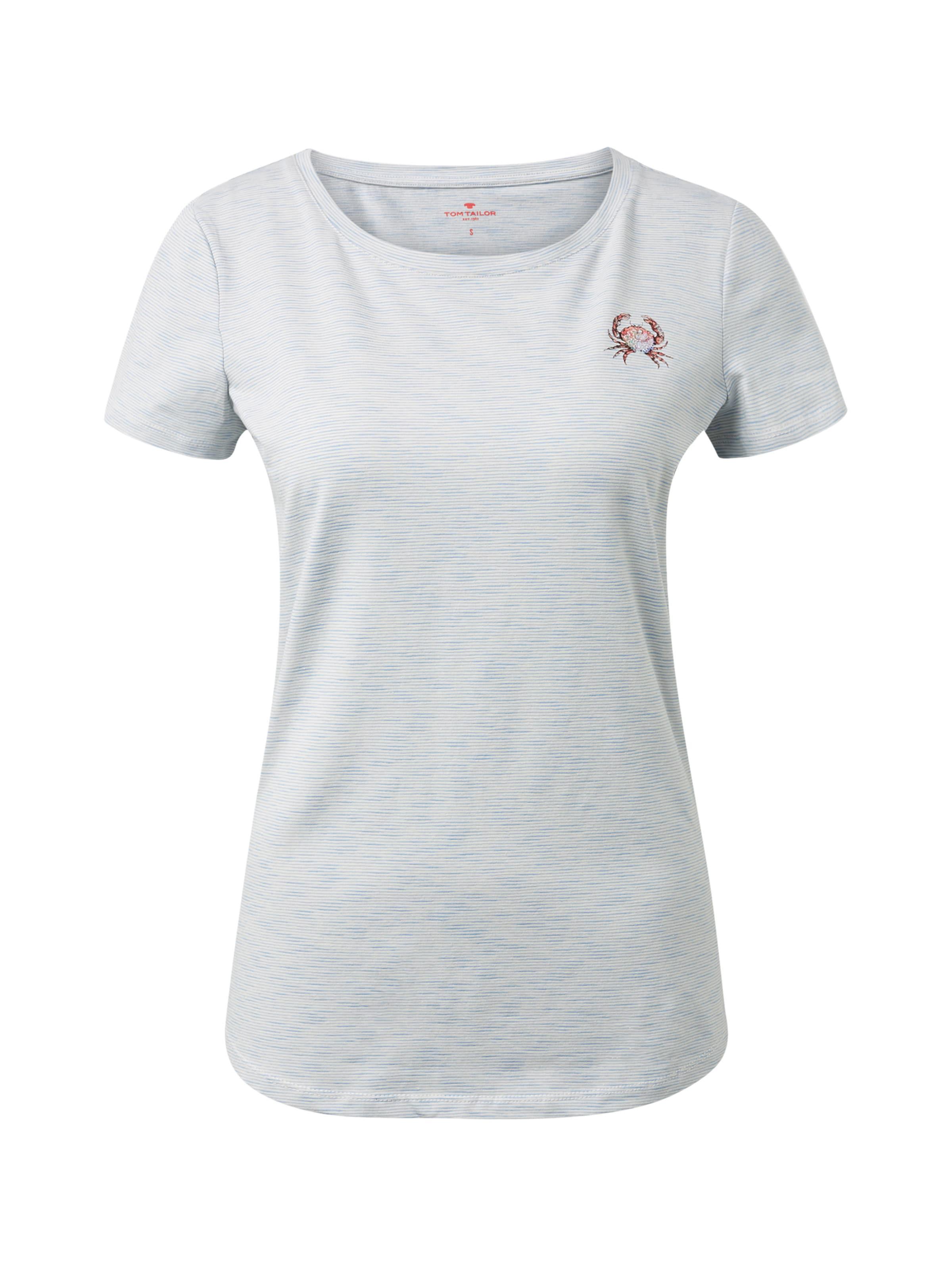 Tailor T Tom RoyalblauWeiß shirt In 6vbYg7yf