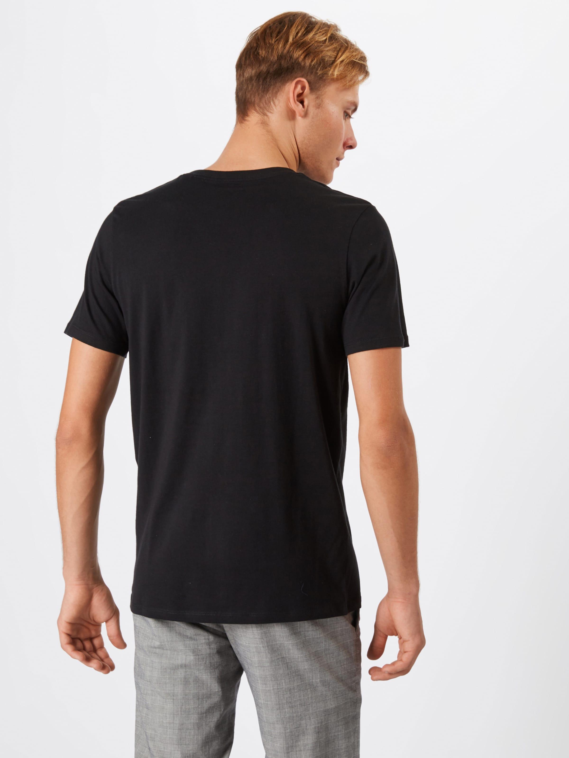 Jones T Mélange shirt De Jackamp; En CouleursNoir shQrxBtdCo