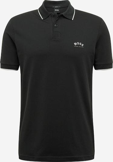BOSS ATHLEISURE Shirt 'Paul Curved' in de kleur Zwart, Productweergave
