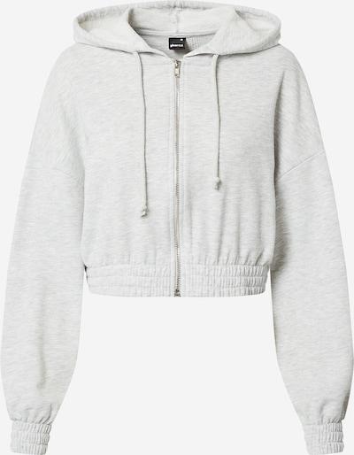 Gina Tricot Tepláková bunda 'Abbie' - svetlosivá, Produkt