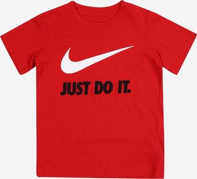 Nike Sportswear Shirt in rot / schwarz / weiß, Produktansicht