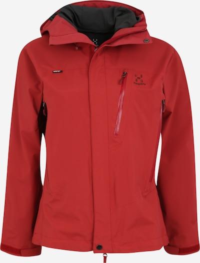 Haglöfs Outdoorjas 'Astral' in de kleur Rood, Productweergave
