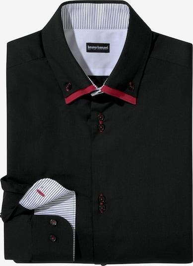 BRUNO BANANI Hemd in rot / schwarz / weiß, Produktansicht