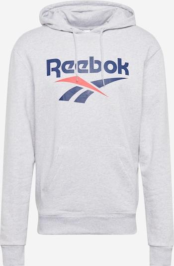 Reebok Classic Sweatshirt in navy / graumeliert / rot, Produktansicht