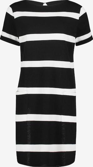 Betty & Co Jerseykleid in schwarz / weiß: Frontalansicht