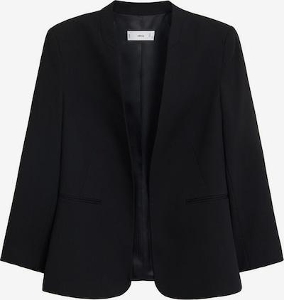 MANGO Blazer 'Boreal' in schwarz: Frontalansicht