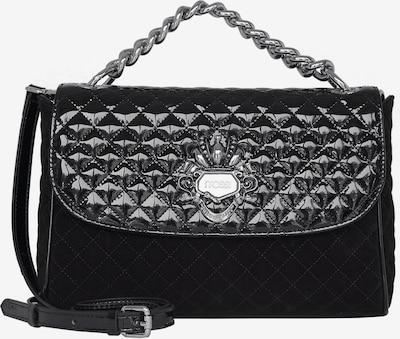 Silvio Tossi Handtasche in schwarz / silber, Produktansicht