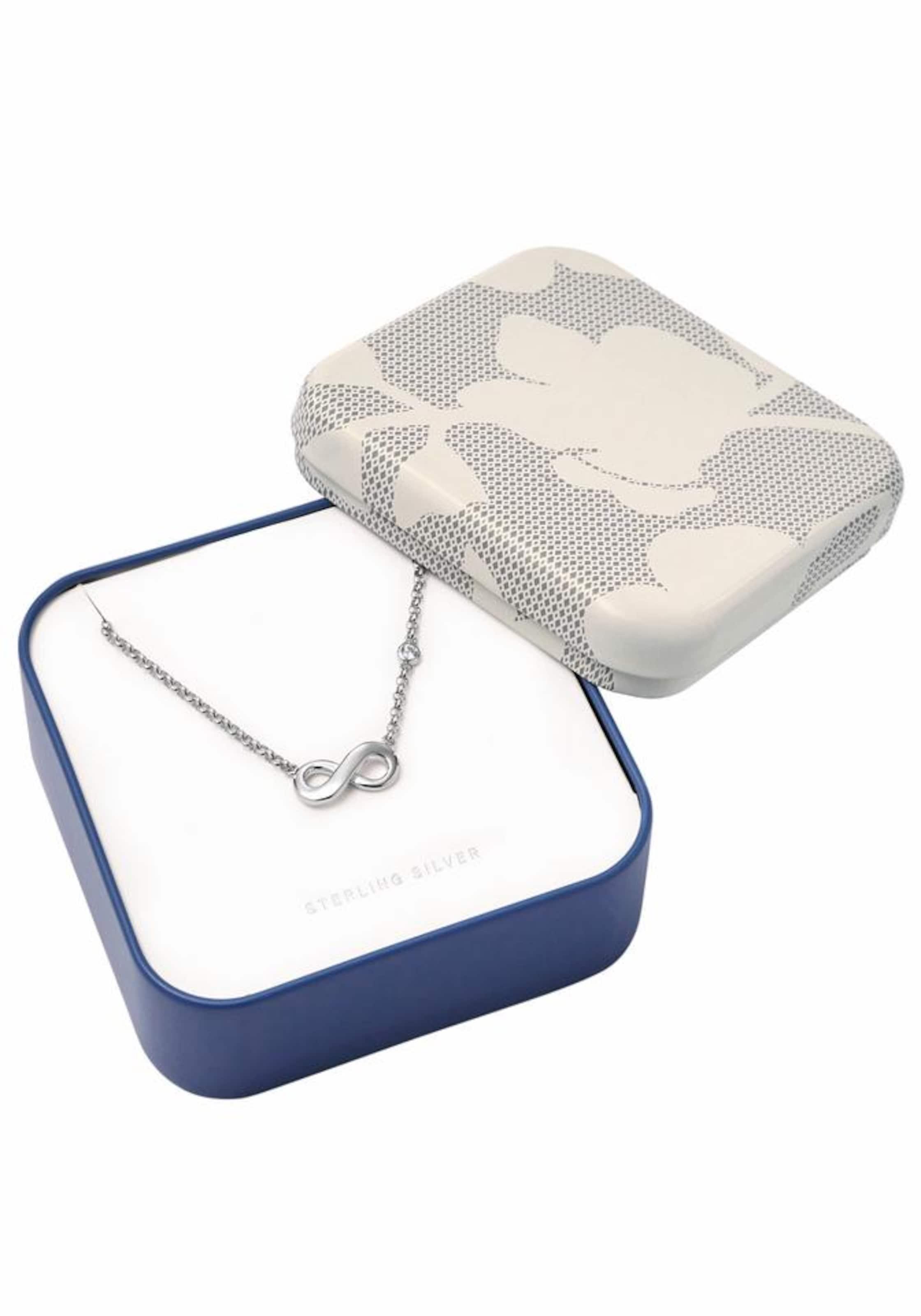 FOSSIL Silberkette 'Infinity/Unendlichkeit, INFINITIVE LOVE, JFS0039404'